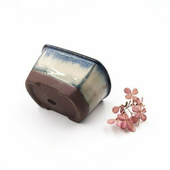 Small Plant Pot | 9 x 6 x 4.5 cm | Frost Blue | XXZ39