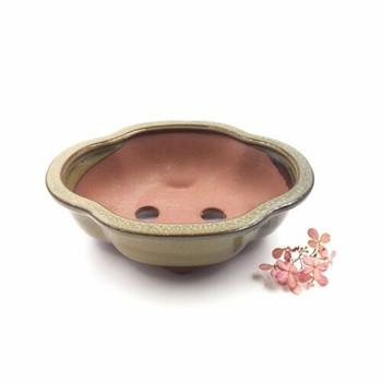 Fluted Plant Pot | 18 x 15 x 6 cm | Pear Green | XXZ10