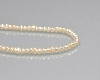 "Semi-baroque Neutral Freshwater Pearls 4-5mm | Sold By 1 Strand(8"") 