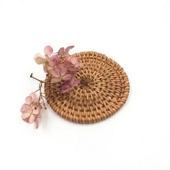 Woven Circle Mat | Mini 8cm | WM08