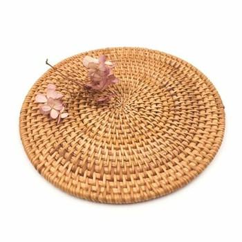 Woven Circle Mat | XL 18cm | WM18