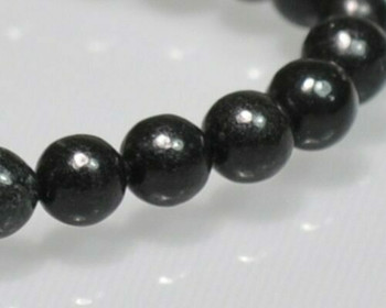 """Round Obsidian Beads 4mm   Sold by 1 Strand(7.5"""")   BS0067"""