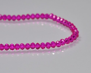 """Briolette Rose Crystal Beads 3x 4.5mm   Sold by 1 Strand(10"""")   BS0134"""