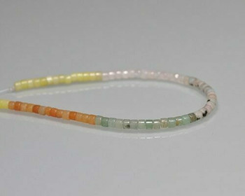 "Round Light Green Quartz Beads 4mm | Sold by 1 Strand(7.5"") 