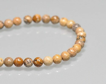 """Round Arkose Beads 4mm 