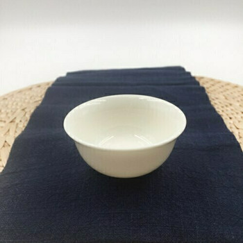 Porcelain Teacup   Curved Lip, Flat Foot   C03