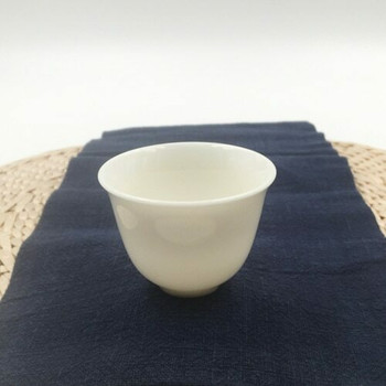 Porcelain Teacup   Tall, Curved Lip, With Foot   C05