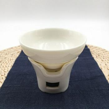 Porcelain Tea Strainer   Tall Stool   S02