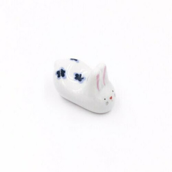 Flower Bunny Chopstick Rest | CR05