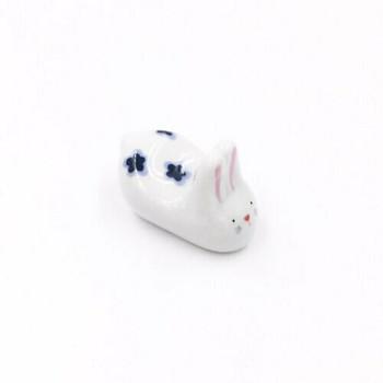 Flower Bunny Chopstick Rest | CR05