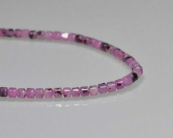 "Drum Purple Quartz Beads 4x4.5mm | Sold by 1 Strand(7.5"") 