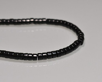 "Drum Obsidian Beads 3.5x6mm | Sold by 1 Strand(9"") 