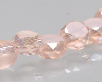 "Rondelle Side-hole Vintage Rose Crystal Beads 6x4mm | Sold by 1 Strand(10"") 