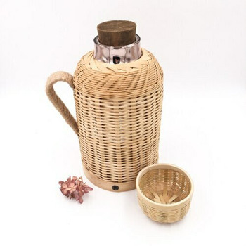 Chinese Hot Water Thermos | Pale Basketry | TWA60