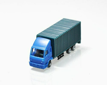 Scale Model Truck | 1:150 (54x15x21mm) | Blue | Sold by Pc | AM0023
