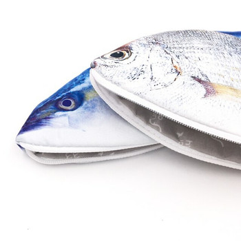 Grocery Store Fish Pencil Cases | H1930