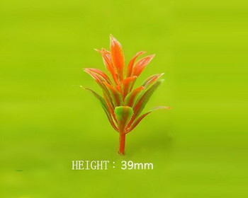 Scale Model Plant 10pc | 39mm | Orange |Sold by 10Pc/Pk | AM0041