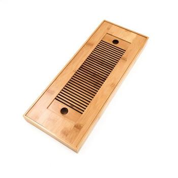 Bamboo Tea Tray | Brown | 38x15x3cm | H199303