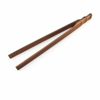 Bamboo Tea Tong | Stained & Carved | H199302