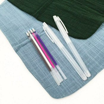 Heat Erasable Fabric & Leather Pen KIT | 2 Shells with 4 Refills | H202301