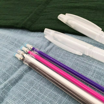 Heat Erasable Fabric & Leather Pen KIT   2 Shells with 4 Refills   H202301