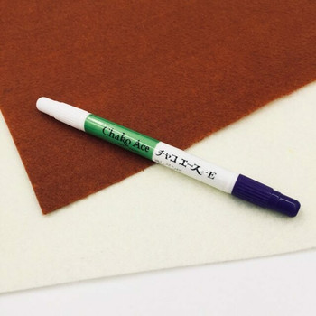 Double-Sided Purple Erasable Fabric Pen | H202306