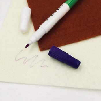 Double-Sided Purple Erasable Fabric Pen | H202306