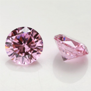 5A Pink CZ | Round Faceted | H1901C
