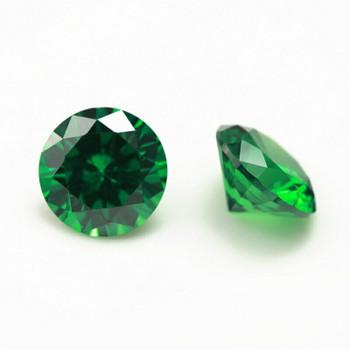 5A Emerald CZ | Round Faceted | H1901E
