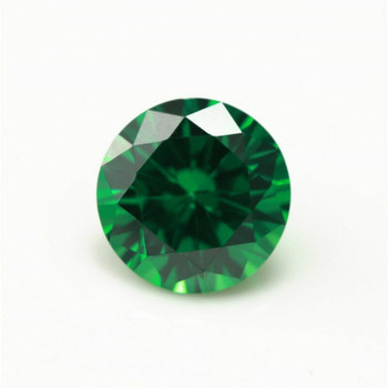 5A Emerald CZ | Round Faceted | H1901E