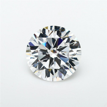 5A White CZ | Round Faceted | H1901F