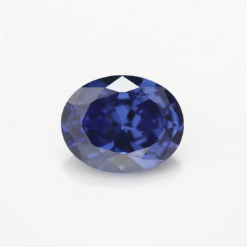 5A Tanzanite CZ | Oval Faceted | H1902A