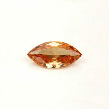 5A Champagne CZ | Marquise Faceted | 5x10mm | H190207