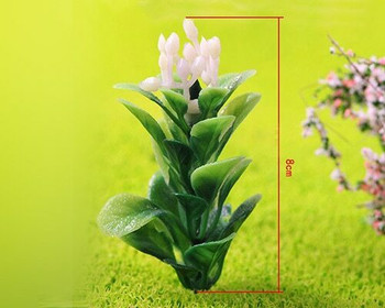 Scale Model Plant 10pc   68mm   Purple Flower  Sold by 10Pc/Pk   AM0043