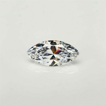 5A White CZ | Marquise Faceted | H1902C