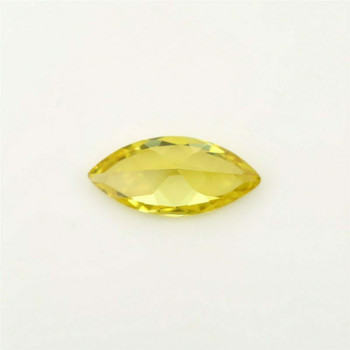 5A Golden Yellow CZ | Marquise Faceted | 6x12mm | H190210