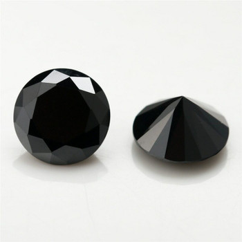 5A Black CZ | Round Faceted | H1903D