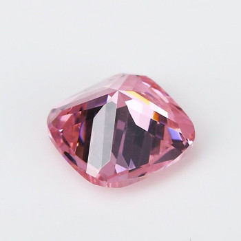 5A Pink CZ | Square Faceted | H1903E