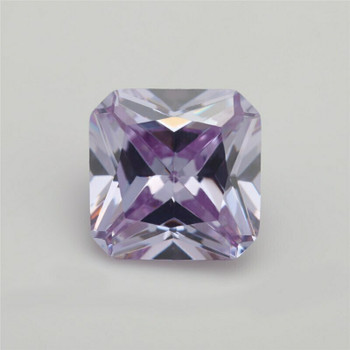 5A Lavender CZ | Square Faceted | H1903I