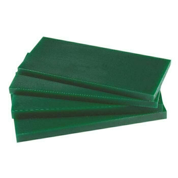 Green Wax Sheets | 70x90mm | Multiple Thicknesses | WS79