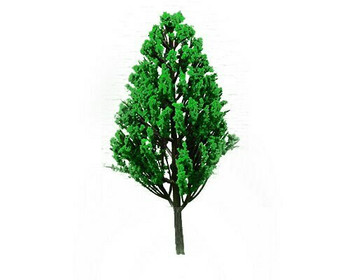 Scale Model Tree 4pc   70mm   Pine   Sold by 4Pc/Pk   AM0052