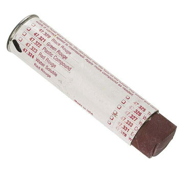 Red Rouge Polishing Compound Stick | Water Soluble | 4oz | 331089