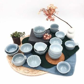 Blue Tian Qing Teacups | H1906