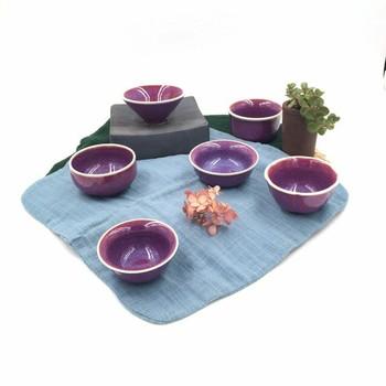 Purple Ju Teacups   H1906P