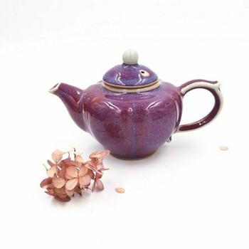 Ju Glazed Teapot | Fluted | H190624