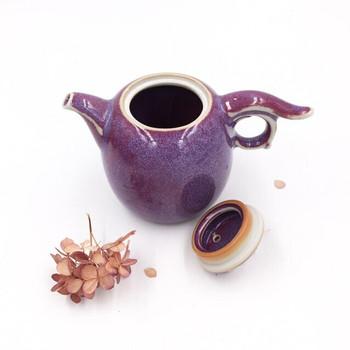 Ju Glazed Teapot | Tall | H190625