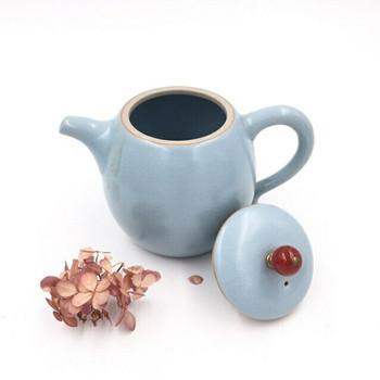 Blue Tian Qing Teapot | Tall | H190641