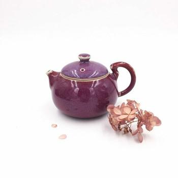 Ju Glazed Teapot | Round | H190645