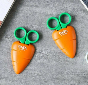 Carrot Scissors with Safety Cover | H200905