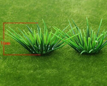 Scale Model Plant 10pc | 16mm | Bush |Sold by 10Pc/Pk | AM0045